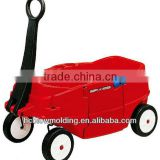 OEM Blow Molding kids wagon, new tricycle for kids, new tricycle PE Plastic Tool Cart Huizhou factory