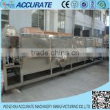 Beverage warming and cooling machine for juice or cola line