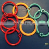 Plastic split ring/loop