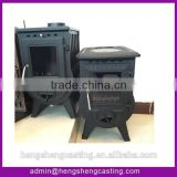 Factory direct selling cast iron wood burning stove with oven ,antique wood burning stove