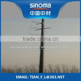 FRP composite pole for the electronic transmission and distribution