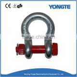 U.S Type Anchor Screw Pin Shackle for lifting work