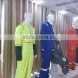 ASTMF1506 fluorescent YELLOW ORANGE fabric high quality hi vis anti-static fabric used workwear