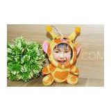Goat giraffe Plush  beautiful 10CM Rabbit Photo Mask toys , 3D doll of yourself face