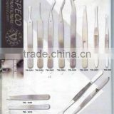 High Quality Eyebrow Tweezers Made of Pak Stainless Steel