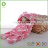 Animal Shapes Baby Berber Fleece Swaddle Blanket