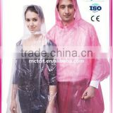 kids rain coat/pvc rain coat/Disposable Protective Coverall with low price