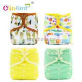 Elinfant AIO baby cloth diaper waterproof adjustable one size fit all washable baby nappy