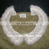 Machine embroidery ladies' garment lace