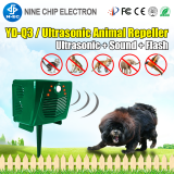 Electronic bionic wave wild animals repeller bird scare dog cat controller