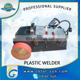 Automatic hot air pvc banner welding machine