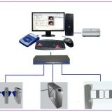 Entrance gate system for District, property, shopping mall, station and office area