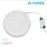 alumium frame 9W 12W 15W round led panel light ceiling mount