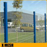 PVC Coated Woven Wire Mesh Panels Galvanized Core Wire Sturdy For Prison