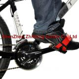 Cycling Fixed Gear Hook Loop Pedal Straps Hook Loop Double Wide Toe