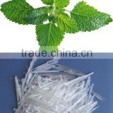 100% natural extract menthol crystal in flavor and fragrance