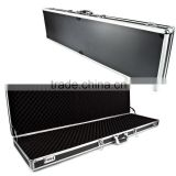 fshion aluminum rifle gun case with hard carry aluminum case with lock factory in China