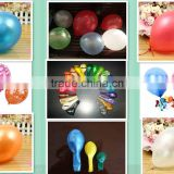 natural latex helium balloon made in china