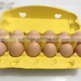 Hot Sale Paper Pulp Egg Carton Boxes 12 holes