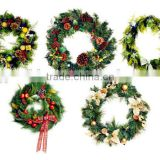 New Design PVC Christmas Wreath Wholesale/Christmas PVC tinsel,party tinsel ,tinsel decoration,wreath decoration