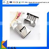 Multifunction stainless steel manual mini 4 side box grater /vegetable grater