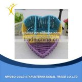 Wholesale Heart-shaped rattan Storage Basket