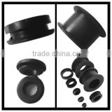 EPDM/silicone/Natural rubber/NBR/recycled rubber/CR(Neoprene) car rubber grommet/auto rubber wire grommet
