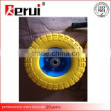 hand truck pu foam wheel 3.50-4 color pu tire 4.10/3.50-4