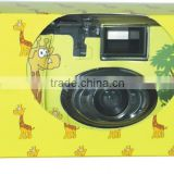 OEM- 35MM Cheap Reusable/Disposable Camera /single use camera with Fuji 200ASA film