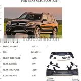 For Mercedes Benz GLk Restyling body kit auto parts upgrade GLK200,GLK260,GLK300,GLK350/material best PP from factory