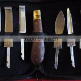 Hoof Knives 6 set Equine Veterinary Horse Knife pouch/ veterinary instruments and equipment