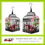 Black and White birdcage hanging birdcages decorative bird cages for weddings                                                                         Quality Choice
