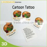Kids Cartoon Design Temporary Tattoo, Kids tattoo sticker                                                                         Quality Choice
