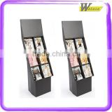 promotion and advertising compartment shelf paper cabinet display for bluetooth mini speaker