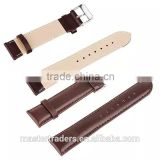 Cheap First Cow Genuine Leather Watch Band Wrist Strap For 38MM Apple Watch MT-3567