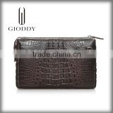 Wholesale china supplier 100% genuine crocodile skin leather wrist wallet