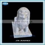 Carved Marble Dog JS-AN082