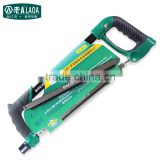 LAOA 12 inch Light Weight Plastic Frame Alluminum Alloy Steel Hand Saw use for Wood Steel Iron
