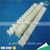 Chinese OEM cheap engineering plastic product high precision cnc machining plastic guide rack product parts