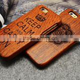 Unique Handmade Natural Wood Hard bamboo wooden cell phone case Cover