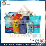 Custom Print Liquid Soap Plastic Container, Liquid Soap Bag, Liquid Soap Packaging
