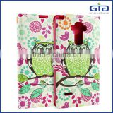 [GGIT] with Stand and OEM Pattern Design Wallet for LG G4 Stylus PU + TPU Phone Case