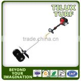 Power broom for brushing artificial grass