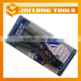 Top-grade item 3 pcs mini wire brush set hand tool packed with blister and card