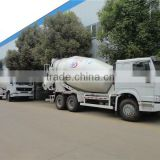 High quality 10CBM howo concrete pump trucks, concrete mixer with pump, concrete truck dimensions