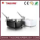 Tagore TG215S New Arrival Hot Sale Makeup Cosmetics Nail Art Model Paint Cake Decorating Mini Airbrush Compressor Kit