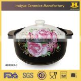 Multi functional ceramic clay cooking pot ceramic clay soup pot ceramic clay hot pot                                                                         Quality Choice