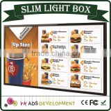 slim light box a3 customized DC 12V for Adverting, Poster, Restaurant, Etc