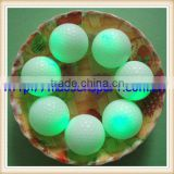 glow golf ball two layers flash golf ball different colors available