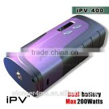 iPV400 with highest technology max 200watt box mod IPV5 200W box mod yihi sx350 chip sx mini Temp Control IPV5 200w TC Box